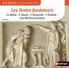 Les Textes fondateurs: La Bible - Illiade - L'Odyssée - L'Énéide - Les Métamorphoses