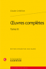 Crébillon (fils) : Oeuvres complètes tome III