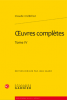 Crébillon (fils) : Oeuvres complètes tome IV